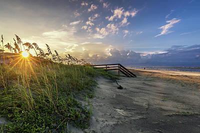 Isle Of Palms Sunstar Poster