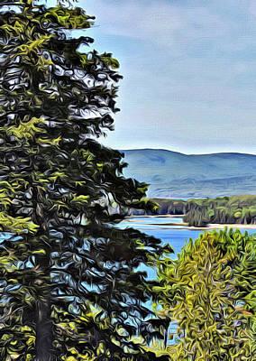 Islesboro View  Poster