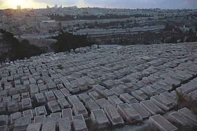 Israel, Jerusalem Mount Of Olives Poster by Keenpress