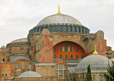 Poster featuring the photograph Istanbul Dome by Munir Alawi