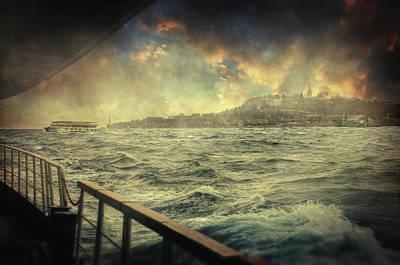 Istanbul Poster by Taylan Apukovska