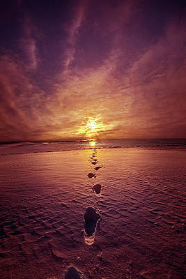 Poster featuring the photograph It Is Then That I Carried You by Phil Koch