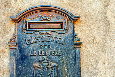 Italian Mailbox Poster