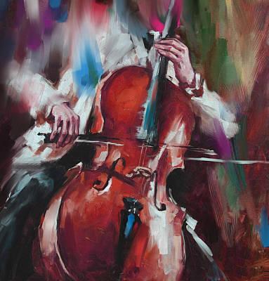 Italian Violin Player 173 4 Poster