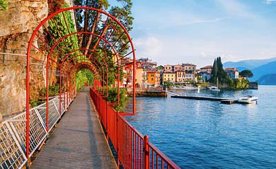 Italian Walk Of Love  Poster