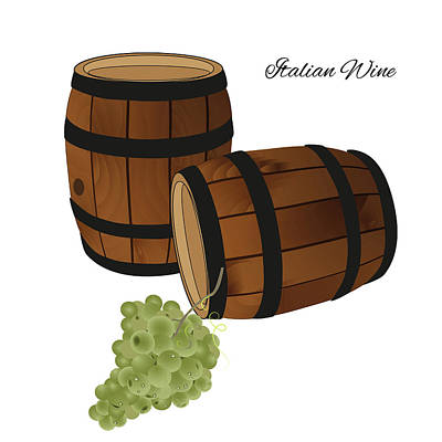 Italian Wine Poster