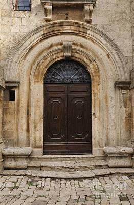 Italy - Door Eighteen Poster