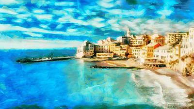 Italy Cinque Terre Poster