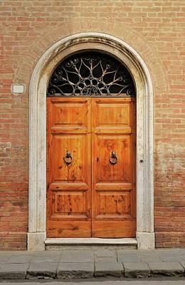 Italy - Door Fifteen Poster