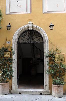Italy - Door Thirteen Poster