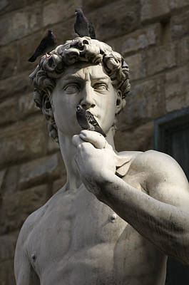 Italy, Florence, Statue Poster