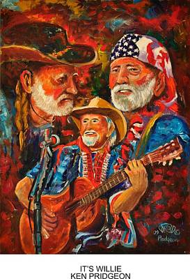 It's Willie Poster by Ken Pridgeon
