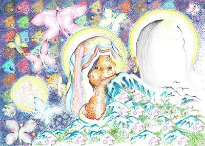 Itzpapalotl Y La Joven Virgin Poster