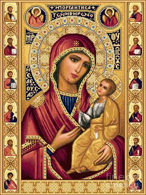 Iveron Theotokos Poster