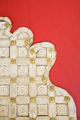 Ivory Door Poster by Romana Chapman