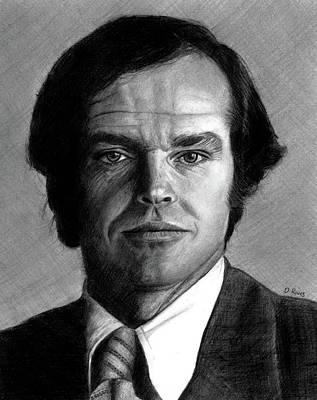 Jack Nicholson Portrait Poster