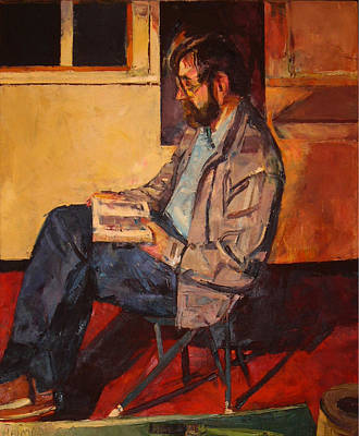 Poster featuring the painting Jack Rogers by Tim  Heimdal