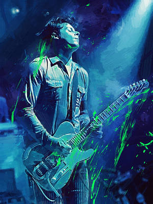 Jack White Poster by Afterdarkness