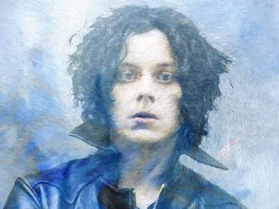 Jack White Poster by Dan Sproul