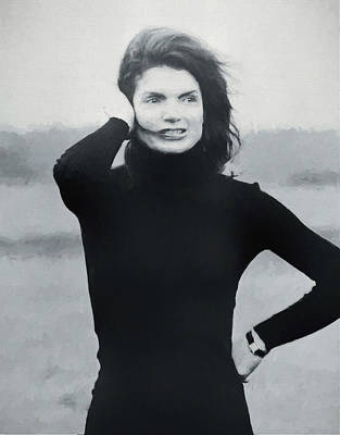 Jackie Kennedy - Painting Poster