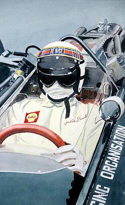 Jackie Stewart Brm Poster