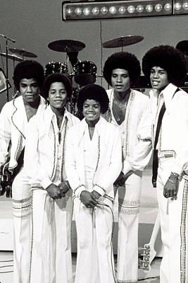 Jackson Five, Michael Jackson Center Poster by Everett