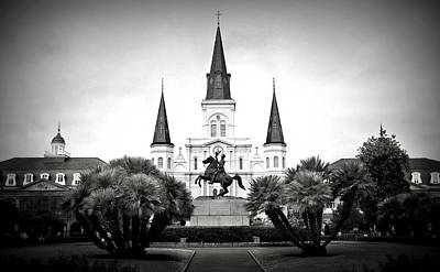 Jackson Square 2 Poster by Perry Webster