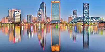Jacksonville Florida Poster by Frozen in Time Fine Art Photography