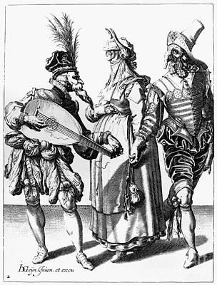 Jacob De Gheyn: The Masks Poster by Granger
