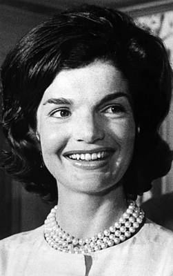 Jacqueline Kennedy As First Lady. Ca Poster