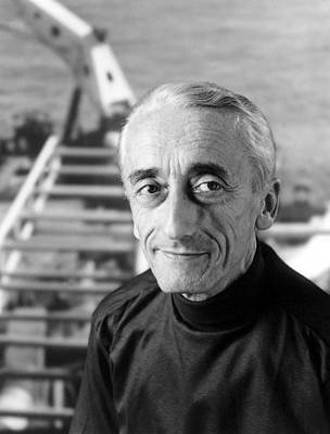 Jacques-ives Cousteau, Naturalist Poster by Everett