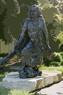 Jacques Marquette Sculpture Poster