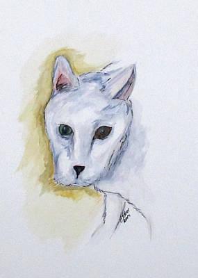 Jade The Cat Poster
