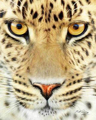 Jaguar Poster by Bill Fleming