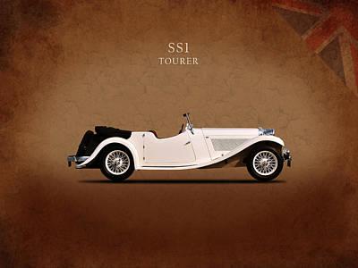 Jaguar Ss1 Tourer Poster by Mark Rogan