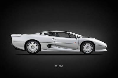 Jaguar Xj220 1992 Poster