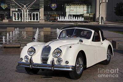 Jaguar Xk 140 Poster