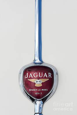 Jaguar Xk 140 Trunk Badge Poster