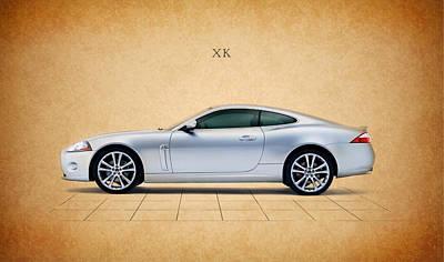 Jaguar Xk Poster