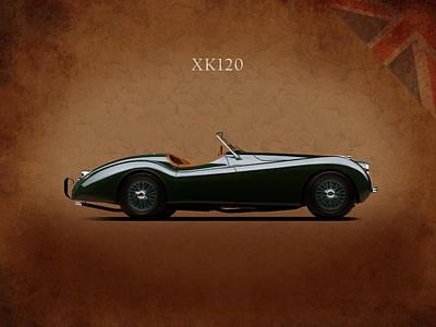Jaguar Xk120 1949 Poster by Mark Rogan