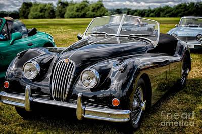 Jaguar Xk140 Poster by Adrian Evans