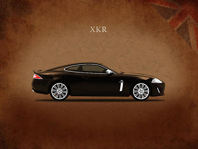 Jaguar Xkr Poster