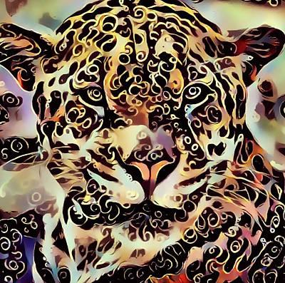 Jaguar Poster by Yury Malkov