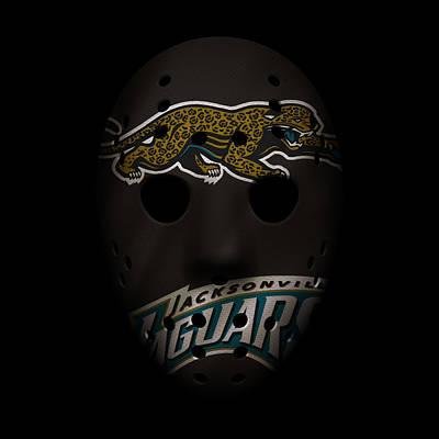 Jaguars War Mask 2 Poster by Joe Hamilton