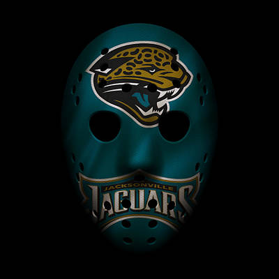Jaguars War Mask Poster by Joe Hamilton