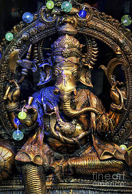 Jai Ganesh Poster by Tim Gainey