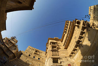 Poster featuring the photograph Jaisalmer Fort by Yew Kwang