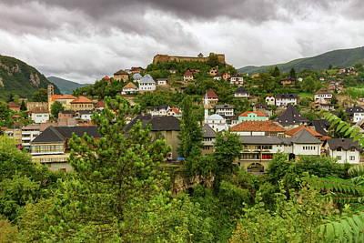 Jajce, Bosnia And Herzegovina Poster by Elenarts - Elena Duvernay photo