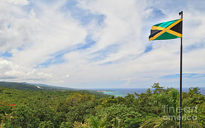Jamaican Pride Poster by Charles Kozierok