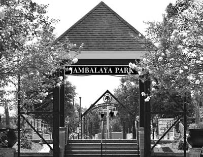 Jambalaya Park In Gonzales Louisiana Poster by D S Images
